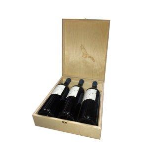KYR YIANNI BLUE FOX RED WOODEN CASE 3 bottles 2018