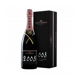 CHAMPAGNE MOET CHANDON VINTAGE ROSE 2008