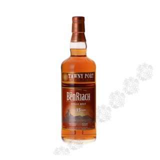 BENRIACH 15 Year Old TAWNY PORT FINISH