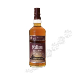 BENRIACH 16 Year Old CLARET WOOD FINISH