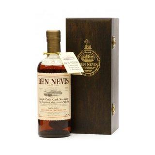 BEN NEVIS 28 Year Old SINGLE CASK - 1984