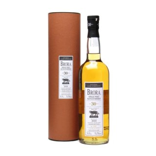 BRORA 30 Year Old - 9th RELEASE BOTTLED 2010