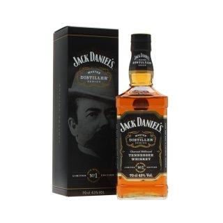 JACK DANIEL'S MASTER DISTILL.No1