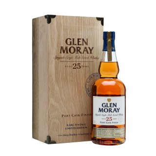 GLEN MORAY 1988 - 25 Year Old PORT CASK FINISH