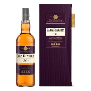 GLEN DEVERON 30 Year Old ROYAL BURGH COLLECTION