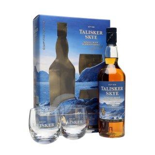 TALISKER SKYE + 2 ποτήρια