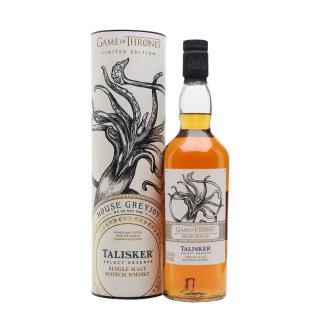TALISKER SELECT RESERVE House Greyjoy - Game of Thrones Collection