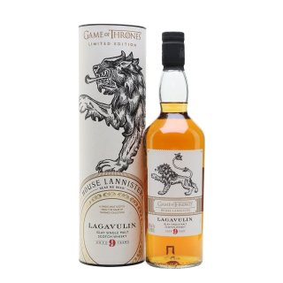 LAGAVULIN 9 YO House of Lannister - Game of Thrones Collection