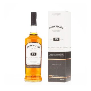 BOWMORE 15 Year Old BOURBON CASK