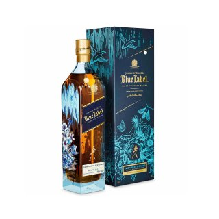 JOHNNIE WALKER BLUE LABEL Timorous Beasties Rare Side of Scotland Limited Edition