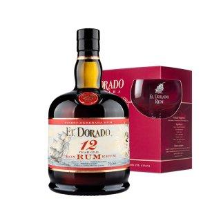 EL DORADO 12 YO GIFT BOX - GREEK BRAND AMBASSADOR COCKTAIL SUGGESTION