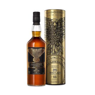 MORTLACH 15 Year Old 46%/ Six Kingdoms - Game of Thrones Collection