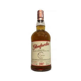 GLENFARCLAS 2007 CASK NO.1628 - BOTTLED FOR G.W.A.