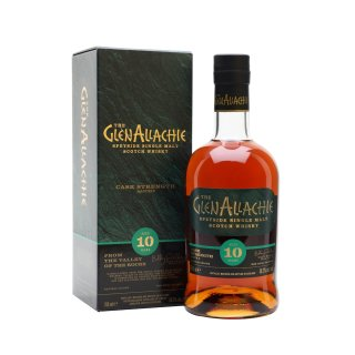 GLENALLACHIE 10 Year Old CASK STRENGTH BATCH 3
