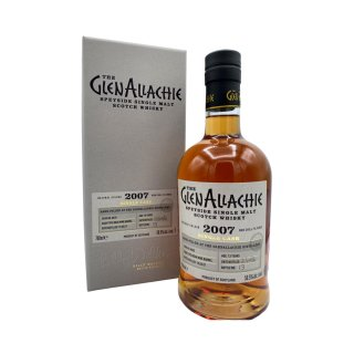 GLENALLACHIE 2007 PX SINGLE CASK #2863 - BOTTLED FOR G.W.A.