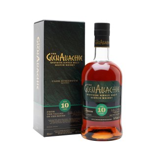 GLENALLACHIE 10 Year Old CASK STRENGTH BATCH 4