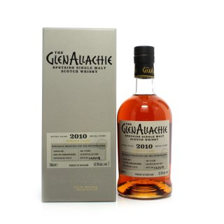 GLENALLACHIE 10 Year Old 2010 Cask #4558 Chinquapin