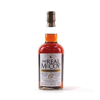 THE REAL McCOY LIMITED EDITION 12 Year Old