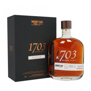 MOUNT GAY CASK SELECTION 1703 MASTER SELECT RELEASE 2020