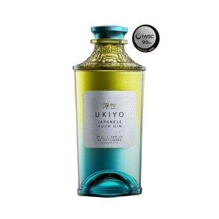 UKIYO Japanese Yuzu Citrus Gin