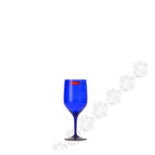GLASS FOR WATER BLUE AUTHENTIS