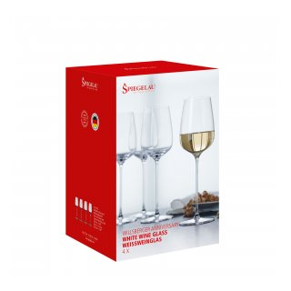 GLASSES SPIEGELAU WILLSBERGER ANNIVERSARY WHITE WINE (4 GLASSES SET)