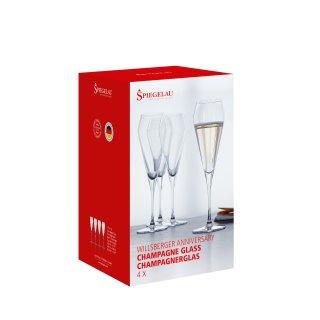 GLASSES SPIEGELAU WILLSBERGER ANNIVERSARY CHAMPAGNE (4 GLASSES SET)