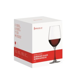 GLASSES SPIEGELAU WINELOVERS BORDEAUX (2 GLASSES SET)
