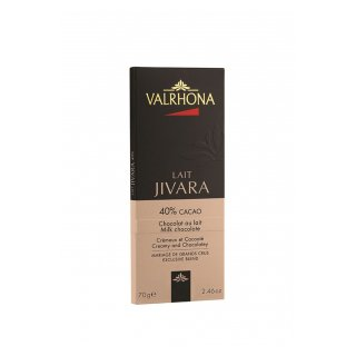CHOCOLATE TABLETTE VALRHONA JIVARA 40%