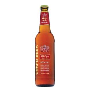 BEER CORFU SPECIAL RED ALE